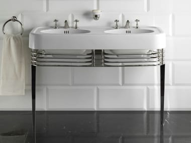Double console sink WIDE BLUES