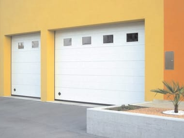 Sectional garage door SIRIO