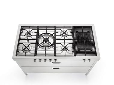 Stainless steel kitchen / cooker LIBERI IN CUCINA 130