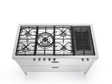 Cozinha / Fogão de aço inox LIBERI IN CUCINA 130