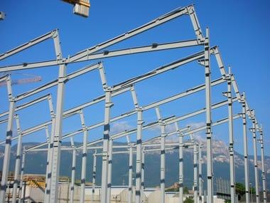 Sistema costruttivo in carpenteria metallica Struttura antisismica