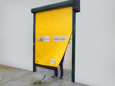Rapid vertical roll-up door LAMPO
