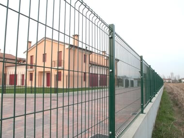 Modular electrically welded mesh Fence VEGA