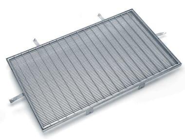Chiusino e griglia per impianto idrosanitario / Grigliato in acciaio FELIX