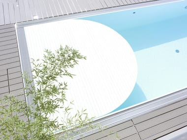 PVC Swimming pool cover COVREX