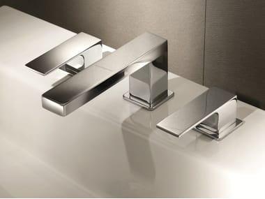 3 hole countertop washbasin tap MINT | 3 hole washbasin tap