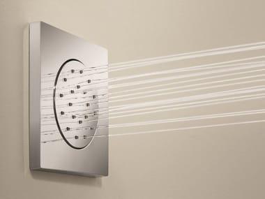 Built-in adjustable side shower Built-in side shower