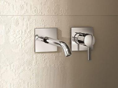 2 hole wall-mounted washbasin mixer NOSTROMO - D013A/E411B