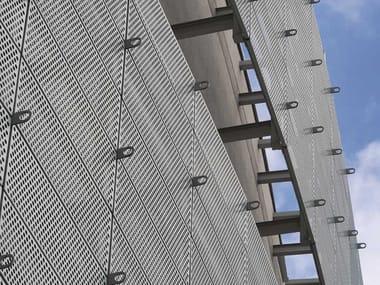 Chapa perfurada e estampada para fachadas de zinco-titânio Chapa perfurada e estampada para fachadas