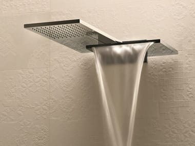 Wall-mounted 2-spray overhead shower MILANO - 8035