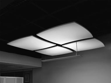 Acoustic ceiling clouds OPTIMA CANOPY