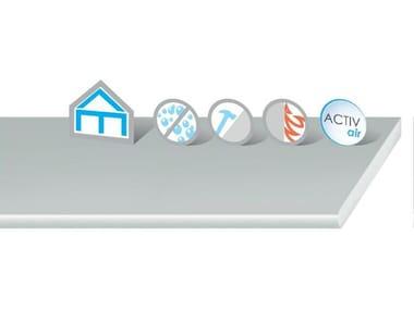Soluzione a secco per pareti, contropareti e controsoffitti DuraGyp Activ'Air®