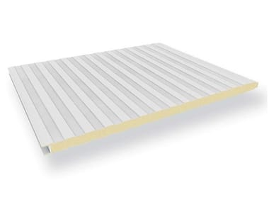 Insulated metal panel for facade BOX