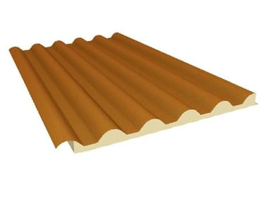 Insulated metal panel for roof OMEGA