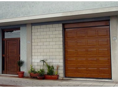 Sectional garage door ITALDOOR APZ CASSETTATO | Sectional garage door