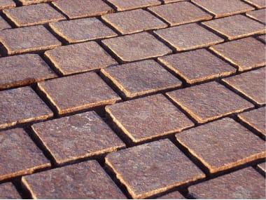 Porphyry outdoor floor tiles PORFIDO R2   Outdoor floor tiles