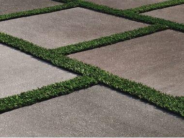 Pavimento per esterni in gres porcellanato effetto pietra CM2 | BASALTO GRIGIO