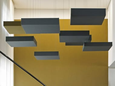 Acoustic ceiling clouds CUBE