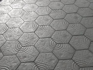 Indoor/outdoor concrete flooring PANOT GAUDÍ