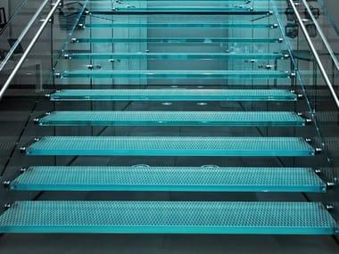 Anti-slip glass flooring UNICOLOR | Anti-slip flooring