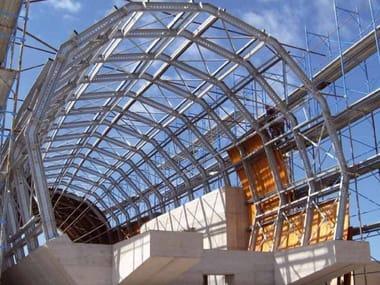Trave, pilar e perfilado metálico estrutural STRUCTURA COSTRUIRE