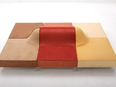 Modular Fabric Sofa DUNE. Giovannetti