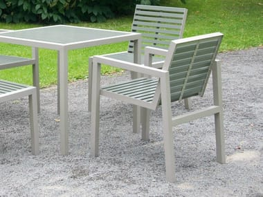 Garden chair with armrests COMFONY 10 | Chair with armrests