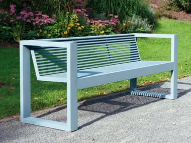Bench with armrests SICORUM M300 | Bench with armrests