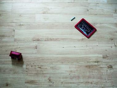 Pavimento in gres porcellanato effetto legno TREVERKHOME