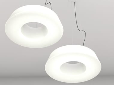 LED polyethylene pendant lamp CIRCULAR POL XS | LED pendant lamp
