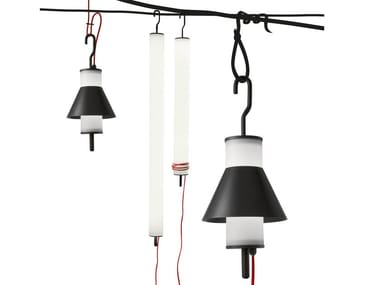 Fluorescent pendant lamp PISTILLO OUTDOOR