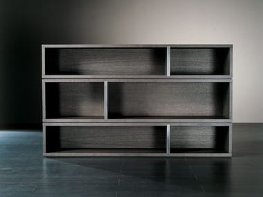 Sectional wooden bookcase JOLY