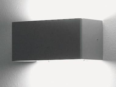 Applique murale halogène en métal design pour éclairage indirect SET | Applique murale