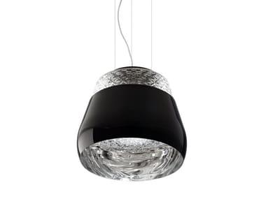 Crystal pendant lamp VALENTINE