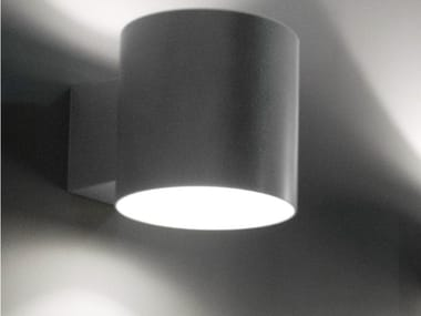 Direct-indirect light wall lamp TUBE