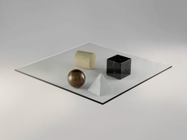 Low square coffee table METAFORA