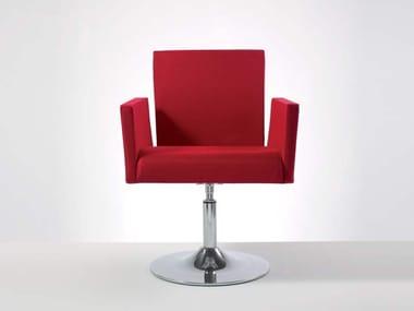 Swivel leather easy chair LOUNGE   Swivel easy chair