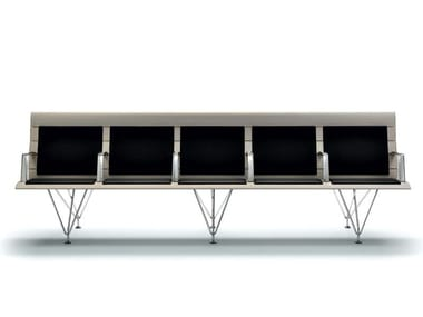 Metal chair / bench seating AIRPORT | Bench seating
