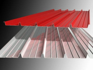 Metal sheet and panel for roof / Metal sheet and panel for facade CT/C 200