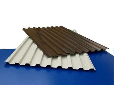 Metal sheet and panel for roof SL 940