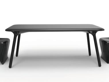 Design rectangular polyethylene table SLOO | Table