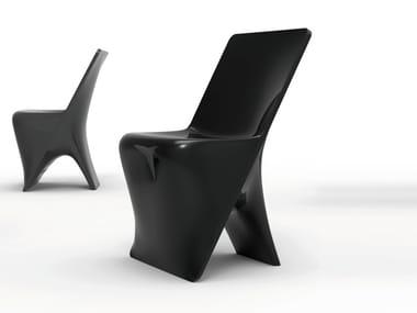 Polyethylene chair SLOO | Chair