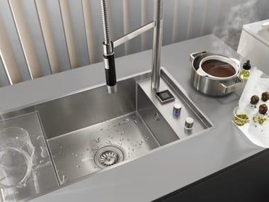 Dornbracht Kitchen Sink And Drainer