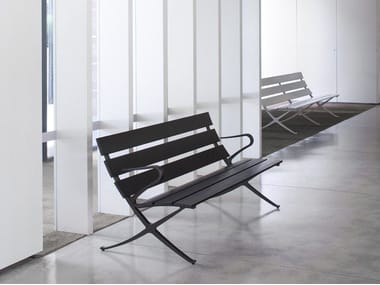Modular Bench with armrests BENCH B | Bench with armrests