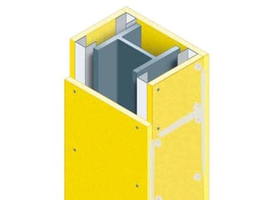 Fire protection of structural elements Fireproof panel