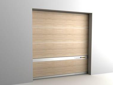 Sectional garage door LIVING