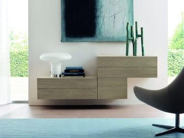 Cassettiera in legno VANITY | Cassettiera