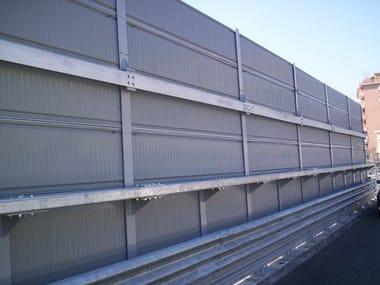 Road noise barrier AKURAIL 5000