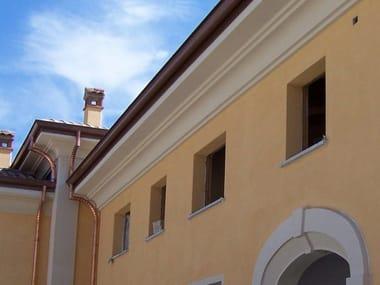 Cornice per facciata / Cornicione in cemento CEMENTI | Cornice per facciata
