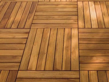 Decking in legno DECKOUT - QUADROTTA